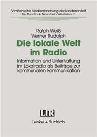 Die Lokale Welt Im Radio