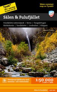 Sälen & Fulufjället Tyvekkarta 1:50.000