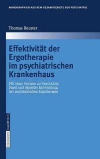 Effektivitat Der Ergotherapie Im Psychiatrischen Krankenhaus