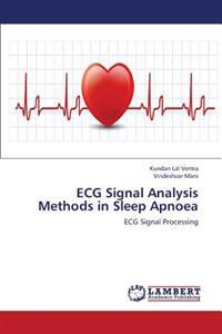 ECG Signal Analysis Methods in Sleep Apnoea