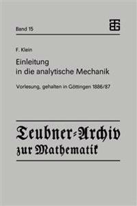 Einleitung in Die Analytische Mechanik