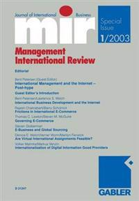International Management and the Internet - Post-hype