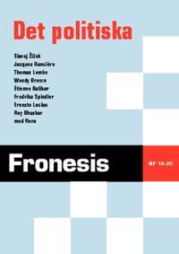 Fronesis 19-20. Det politiska