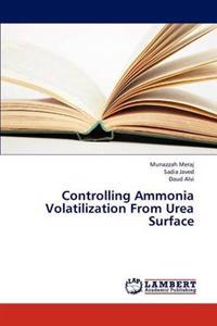 Controlling Ammonia Volatilization from Urea Surface
