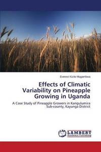 Effects of Climatic Variability on Pineapple Growing in Uganda