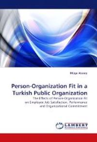 Person-Organization Fit in a Turkish Public Organization
