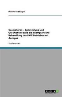 Gasmotoren - Entwicklung Und Geschichte Sowie Die Exemplarische Behandlung Des Pkw Betriebes Mit Autogas