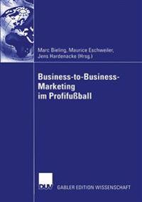 Business-to-Business-Marketing im profifussball