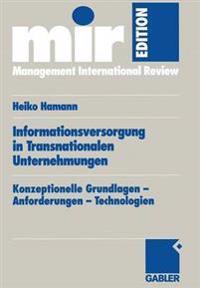 Infurmationsversorgung in Transnationalen Unternehmungen