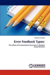 Error Feedback Types