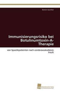 Immunisierungsrisiko Bei Botulinumtoxin-A-Therapie