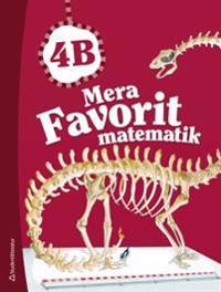 Mera Favorit matematik 4B - Elevpaket (Bok + digital produkt)