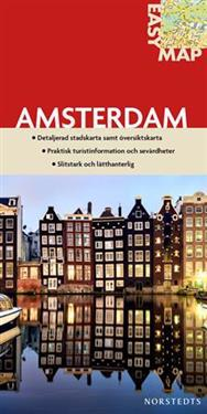 Amsterdam EasyMap stadskarta : 1:11500