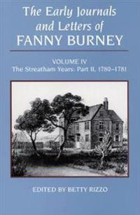 The Early Journals and Letters of Fanny Burney