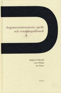 Argumentationsteori, språk och vetenskapsfilosofi