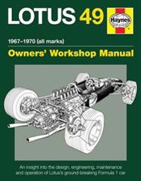 Haynes Lotus 49 1967-1970 (All Marks) Owners' Workshop Manual