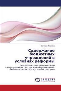 Soderzhanie Byudzhetnykh Uchrezhdeniy V Usloviyakh Reformy