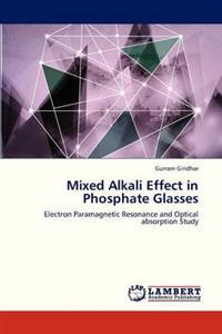 Mixed Alkali Effect in Phosphate Glasses