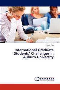 International Graduate Students' Challenges in Auburn University