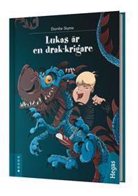 Lukas är en drak-krigare (bok+CD)