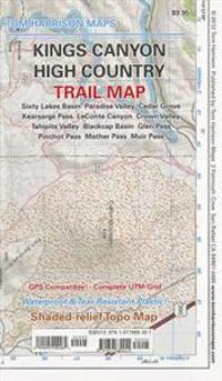 Kings Canyon High Country Trail Map