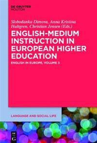English-Medium Instruction in European Higher Education