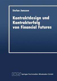 Kontraktdesign Und Kontrakterfolg Von Financial Futures