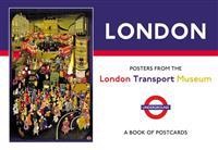 London Posters from the London Transport Museum Book of Postcards Aa832