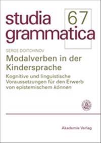 Modalverben in Der Kindersprache