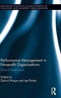 Performance Management in Nonprofit Organizations