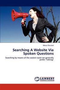 Searching a Website Via Spoken Questions