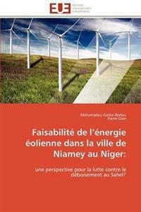 Faisabilite de L Energie Eolienne Dans La Ville de Niamey Au Niger: