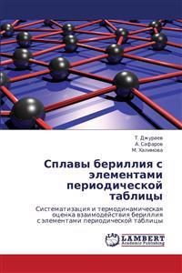 Splavy Berilliya S Elementami Periodicheskoy Tablitsy