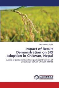 Impact of Result Demonstration on Sri Adoption in Chitwan, Nepal