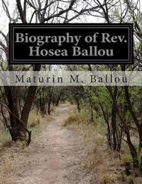 Biography of REV. Hosea Ballou