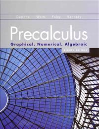 Precalculus: Graphical, Numerical, Algebraic Higher Ed Version Plus MML -- Access Card Package