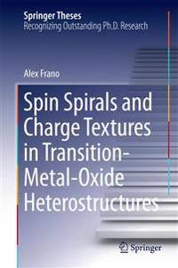 Spin Spirals and Charge Textures in Transition-metal-oxide Heterostructures