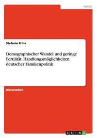 Demographischer Wandel Und Geringe Fertilitat. Handlungsmoglichkeiten Deutscher Familienpolitik