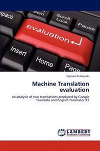 Machine Translation Evaluation