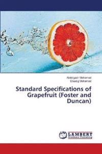 Standard Specifications of Grapefruit (Foster and Duncan)