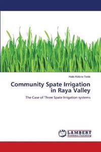 Community Spate Irrigation in Raya Valley