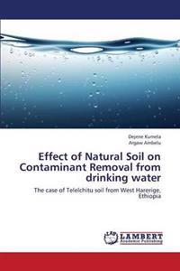 Effect of Natural Soil on Contaminant Removal from Drinking Water