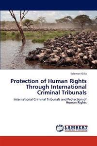 Protection of Human Rights Through International Criminal Tribunals