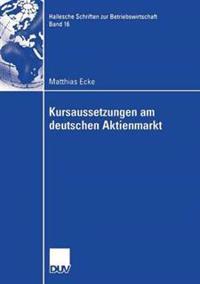 Kursaussetzungen Am Deutschen Aktienmarkt