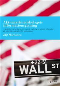 Aktiemarknadsbolagets informationsgivning