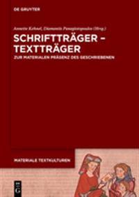 Schrifttrager - Texttrager