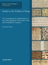 Studies in the Peshitta of Kings