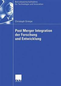 Post Merger Integration Der Furschung Und Entwicklung