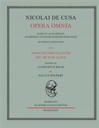 Nicolai de Cusa Opera Omnia. Volumen XIII.