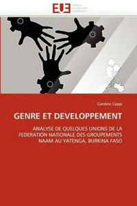 Genre Et Developpement